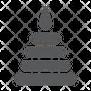 Toy Pyramid Child Icon