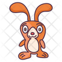 Toy Rabbit Hare Easter Rabbit Icon