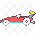 Toy Roadster Icon