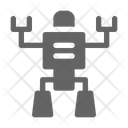 Toy robot Icon