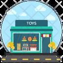 Toy Shop Commercial Market Kids Shop Icon