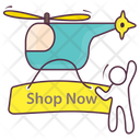 Toy Shopping Icon