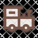 Toy Steam Engine Locomotive Railway Icon
