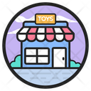 Toy Store Gift Shop Building Icon