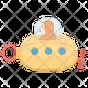 Toy Submarine Underwater Toy Remote Submarine Icon