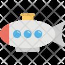 Toy Submarine Icon