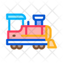 Children Train Attraction Icon