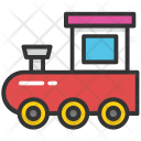 Train Locomotive Toy Icon