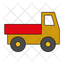 Toy Truck Lorry Pickup Icon