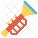 Trumpet Music Fun Icon