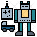Toy Toyrobot Toycar Icon