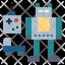 Toy Toyrobot Toycar Icon