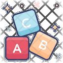 Alphabet Block Abc Block Education Icon