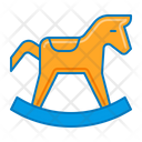 Toys Horse Toy Rocking Chair Icon