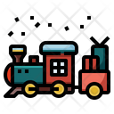 Toys Train Railway Icon