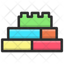 Toys Blocks Brick Building Icon