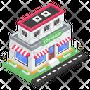 Toys Market Outlet Storehouse Icon