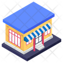 Toys Market Outlet Storehouse Icon