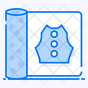 Embroidery Pattern Sketch Paper Tracing Paper Icon