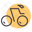 Track Cycling Cycle Icon