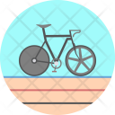 Track Cycling Olympics Icon