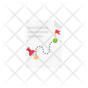 Map Document File Icon