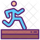 Track And Field Field Tracks Icon