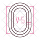 Track Competition Field Tracks Icon