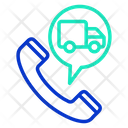 Track Delivery Call Icon