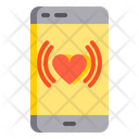 Track heartrate Icon