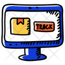 Track Order Delivery Tracking Parcel Tracking Icon
