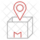 Ship Order Tracking Icon