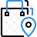 Shopping Track Track Icon