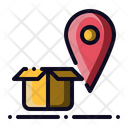 Locate Package Track Icon