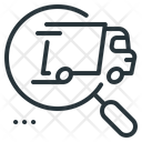 Track Package Track Cargo Track Delivery Icon
