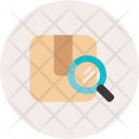 Track Package Parcel Icon