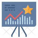 Track Point Chart Icon