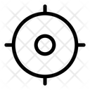 Tracker Focus Crosshairs Icon
