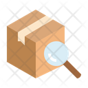 Tracking Parcel Box Icon