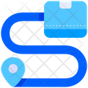 Tracking Track Route Icon