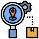 Tracking Trace Location Icon
