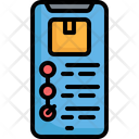 Tracking Delivery Box Icon