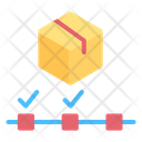 Tracking Package Box Icon