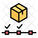 Tracking Delivery Package Icon