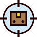 Tracking Package Online Icon