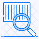 Tracking Code Parcel Scanning Qr Code Scanning Icon