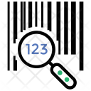 Tracking Package Number Icon