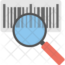 Tracking Code Barcode Icon