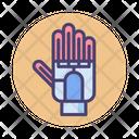 Tracking Glove Robotic Hand Glove Icon