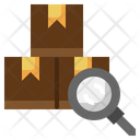 Tracking Package Parcel Inspection Icon